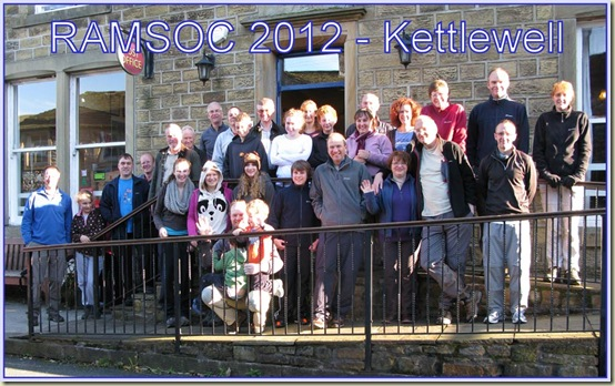 Outside Kettlewell Youth Hostel on 21/10/12