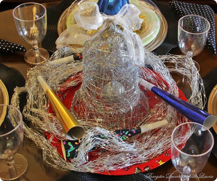 New Year Table for Children