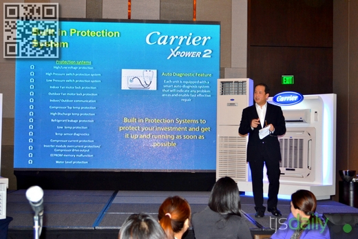 raul concepcion carrier aircon event