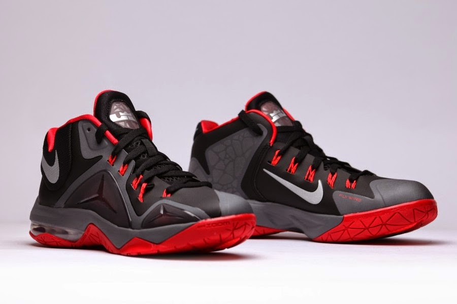 8969ccbd5a0 ... Nike Ambassador VII 8211 Black Red 8211 Available in Europe