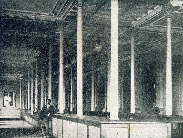 Reconocimiento y deposito de equipajes. De la Memoria sobre el estado y adelanto de las obras del puerto de Barcelona durante los años 1.907 a 1.910, ambos inclusive.JPG