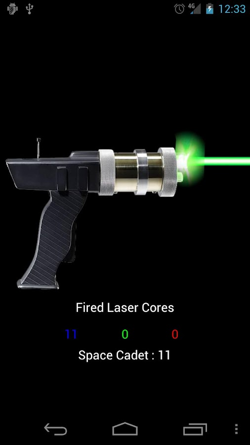 Laser Gun HD! (Ad-Free) - screenshot