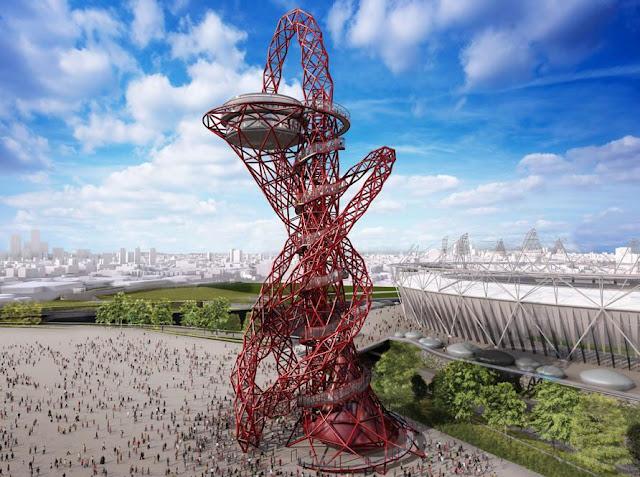 Anish Kapoor - 5 Recreación del ArcelorMittal Orbit - parque olímpico de Londres 2012.jpg