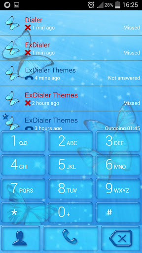 ExDialer Butterfly
