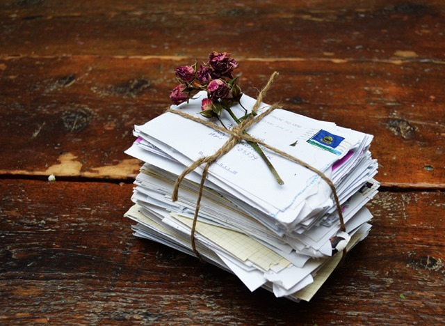 pile-love-letters