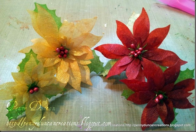 PDC Coffee Filter Poinsetta Flowers 8042012 (5)