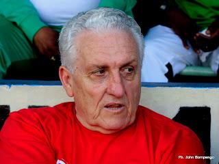 Robert Nouzaret, entraîneur de l'équipe nationale de la RDC. Radio Okapi/ Ph. John Bompengo