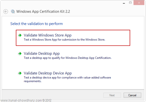 Windows App Certification Kit 2.2