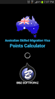 Screenshot of Australian Points Calculator