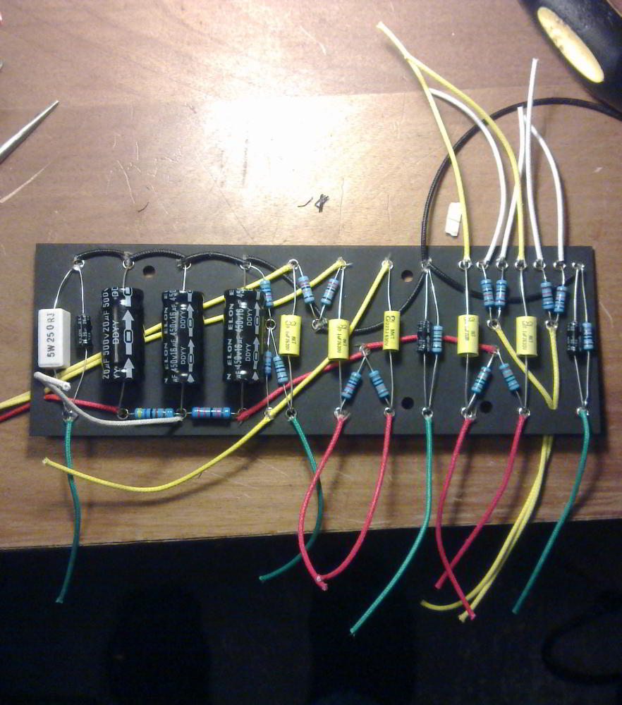 Paul Ps Amps 2013 Push Pull Pot Phase Reversal Wiring Problems Mylespaulcom Populated Board