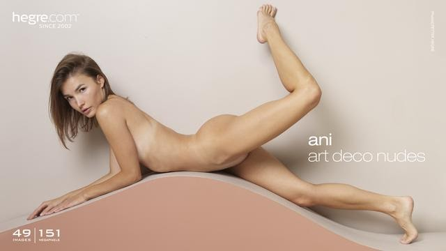 [Art] Ani - Art Deco Nudes