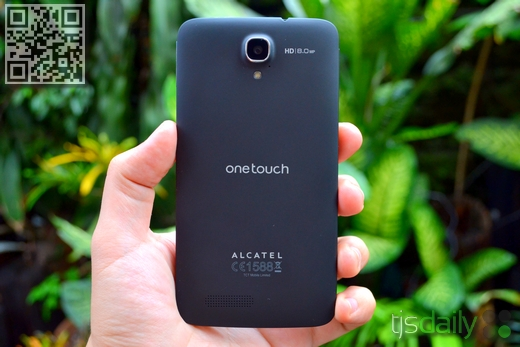 Alcatel One Touch Scribe HD Back