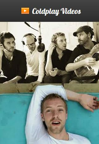 Coldplay Videos - screenshot