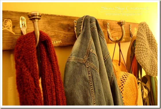 Shona Skye Creations - Reclaimed Decking Coat Rack