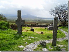 Peninsula de Dingle. Ruta de Slea Head. Kilmakedar church. Cementerio - P5060973