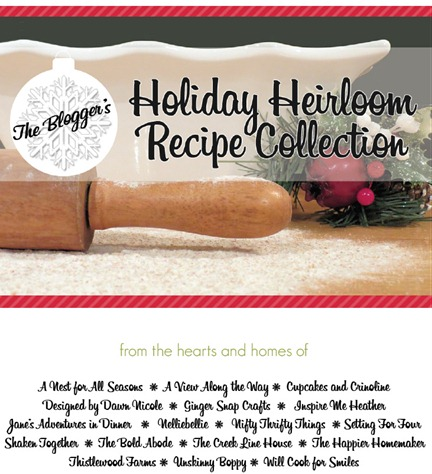 heirloom recipe book cover