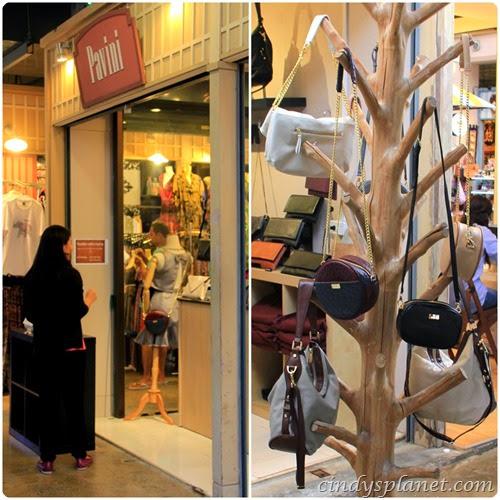 Asiatique shopping pavini