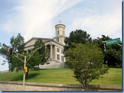 9496 Nashville, Tennessee - Discover Nashville Tour - downtown Nashville - the State Capitol Building