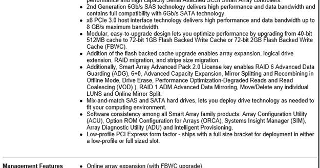 MPECS Inc  Blog: HP Smart Array P420i Controller – Caveat