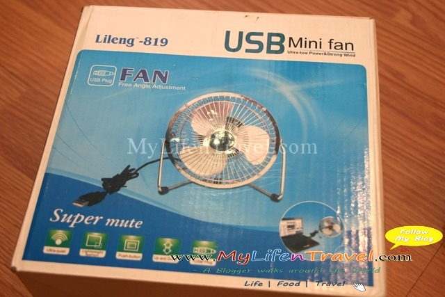 usb mini fan