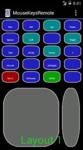 MouseKeys Remote