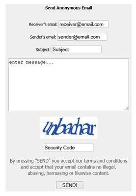 send-anonymous-email
