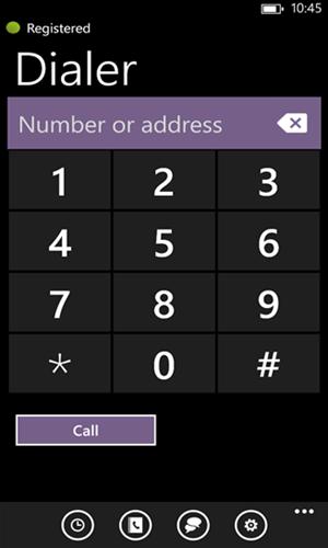 Matt Landis Windows PBX & UC Report: Windows Phone 8 SIP VoIP Client