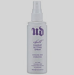chill makeup setting spray