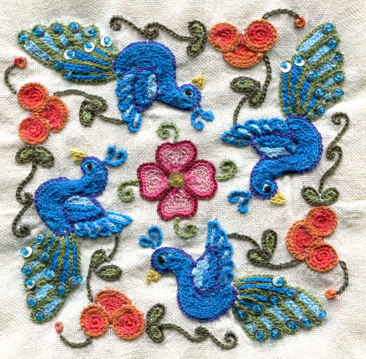 The Tempests In My Teacup Tambour Embroidery Part 2 Practice