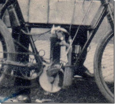 Fred Webster and Bike Motor