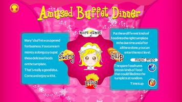 Screenshot of Buffet Dinner Matching