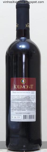 Cabernet Sauvignon Demi-sec Jolimont
