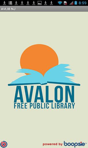Avalon Free Public Library NJ