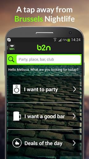 b2n The Brussels Nightlife App