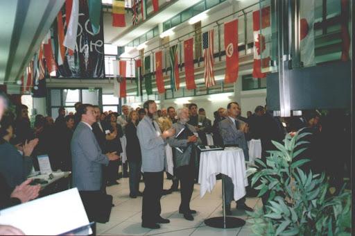 während der Eröffnungsveranstaltung des Internationalen Außenwirtschaftstages in der IHK Gera