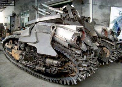 kaskus-forum.blogspot.com - Desain Tank Teraneh Di Dunia Buatan China
