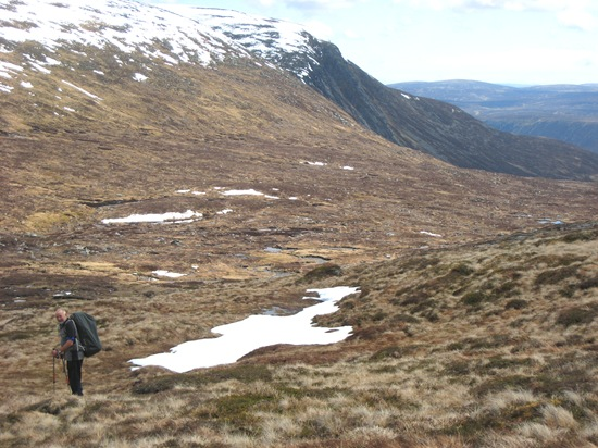 Heading down to Dubh Loch