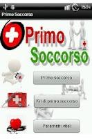 Screenshot of Primo Soccorso