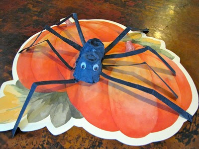 Anansi Spider Craft from Creekside Learning