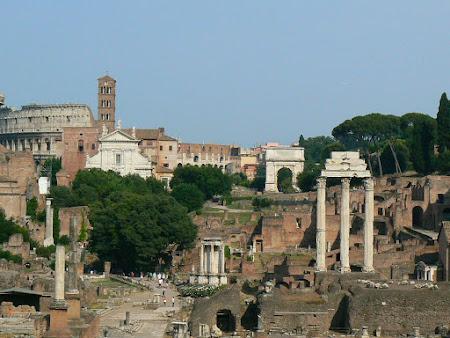 Obiective turistice Italia: Forul Roman
