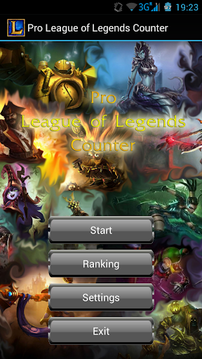Pro League of Legends Counter