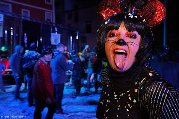 Concert i confeti a la Part Alta. La Pipel Entertaiment. Carnaval de Tarragona.Tarragona, Tarragonès, Tarragona