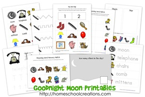 Goodnight Moon collage
