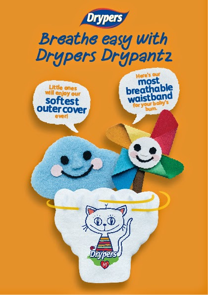 Drypers DPZ Breathe Easy Media Images Campaign Mnemonic