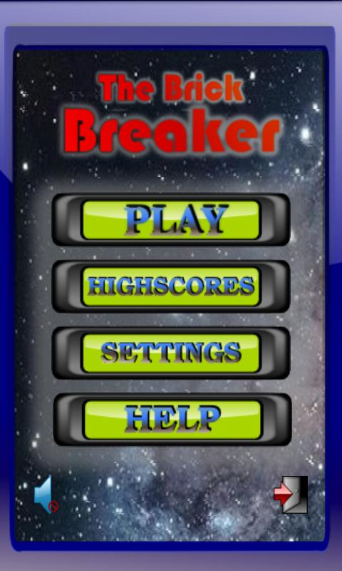 The Brick Breaker Plus- screenshot