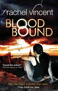 Blood Bound Rachel Vincent UK cover