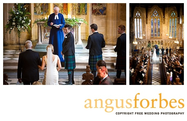 religious service Scottish wedding Photographer Dundee_033