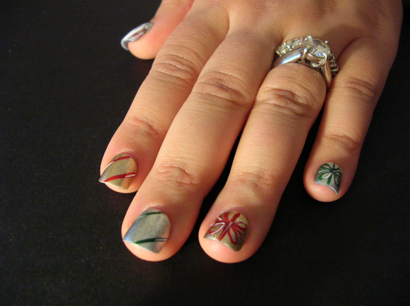 ecklipsed by color: On the Fifth Day of Christmas, my nail art gave ...