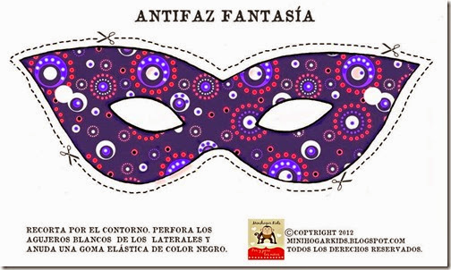 antifaz morado 1