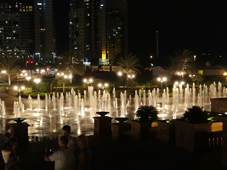 Abu Dhabi by night